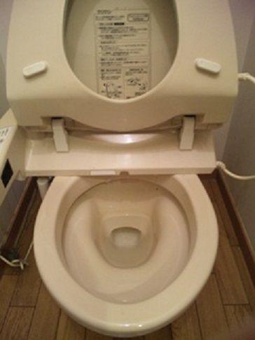 トイレつまり修理完了