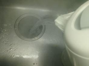 熱湯による殺菌