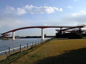 木更津市の中の島大橋
